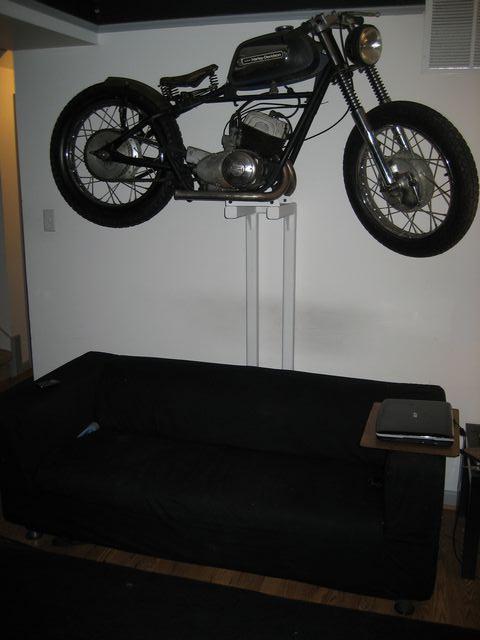 Motorcycle In My Living Room